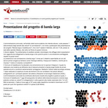 Castelbuono: presentato il progetto Banda Larga Integrys.it