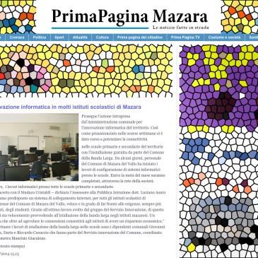 Banda larga negli istituti scolastici di Mazara del Vallo grazie a Integrys.it